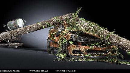 Opel Astra III - WIP - Texturing Complete 2