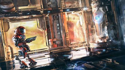 Sci-fi Game Concept Art (in Blender)