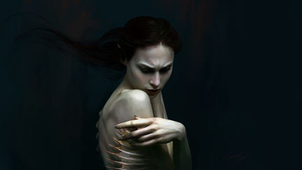 The Mermaid_portrait
