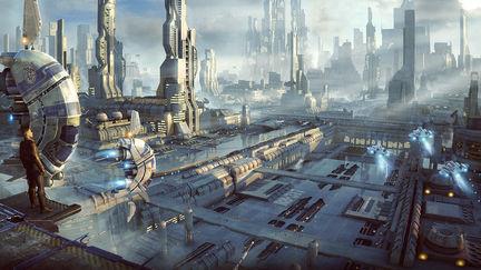 SciFi Cityscape 2