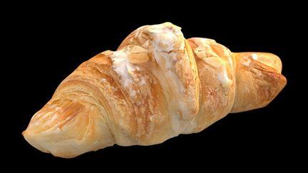 almonds croissant