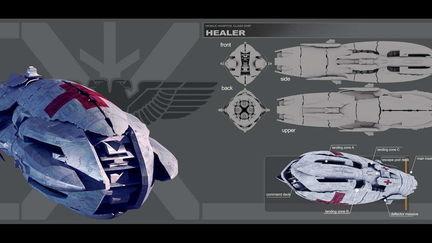 Healer - hospital ship concept