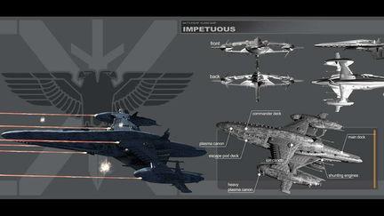 IMPETUOUS - Strike battleship