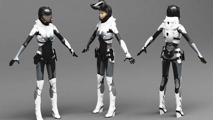 Pilot femail (suit concept)