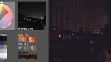 Color Plein-Air Night Demo