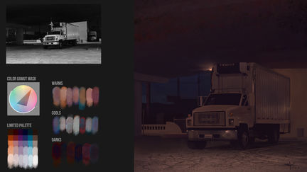 Color Plein-air Truck  | Brainstorm School DC1 | VisualPops