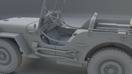 Willy's MB Jeep