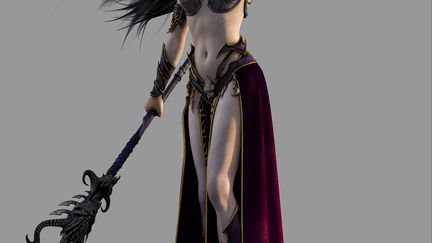 Warhammer Dark Elf Sorceress