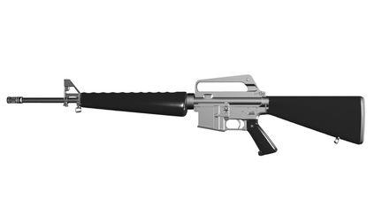 WIP M16A1 Assault Rifle