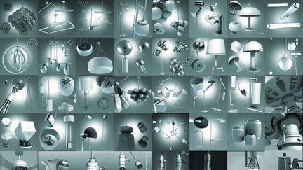 3D Interior Design Furnishing Lamps and Lighting