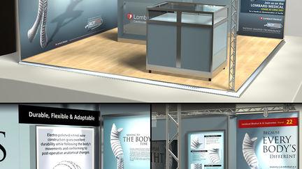 AorFix Exhibition Stand Visualisation