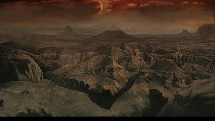 Mattepainting for an RTS game 2.