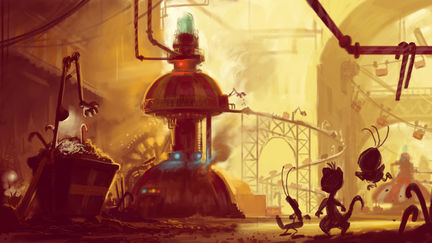 Visual development for animated feature
