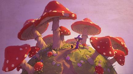 Lowpoly - Mushroomland