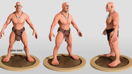 caveman - big guy