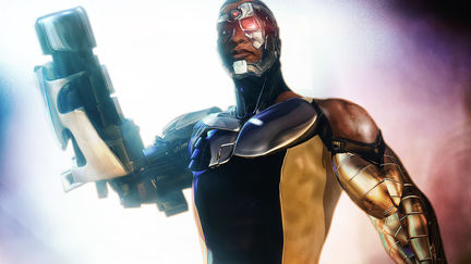 Cyborg of Teen Titans