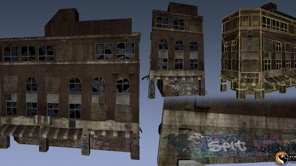 Saints Row - Low poly building