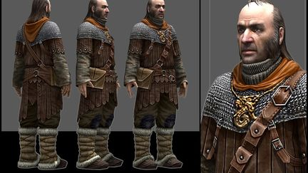 """""""Predelnik"""" main character from """"THE TIME FOR DRAGONS HASN`T COME YET"""" game"""