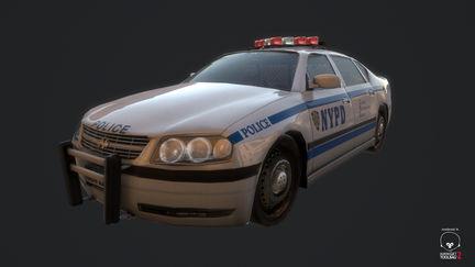 NYPD Sedan #2