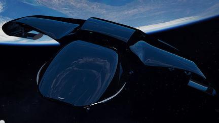 Aston Martin spaceship