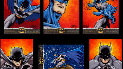 Batman Sketch Cards
