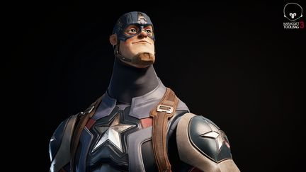 Captain America Real Time Model