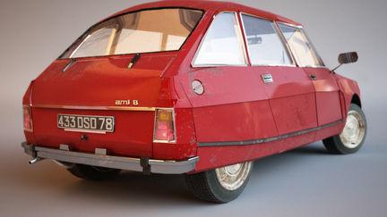 1969 Citröen Ami 8 - Back