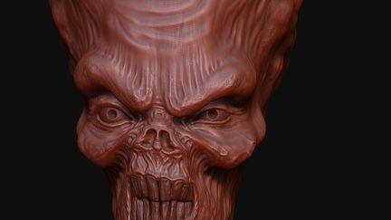 An alien quick sculpt