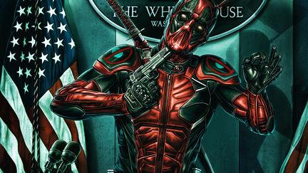 Deadpool the patriot