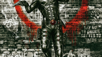 Deadpool too cool for tights