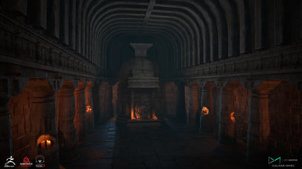 Indian Cave Temple