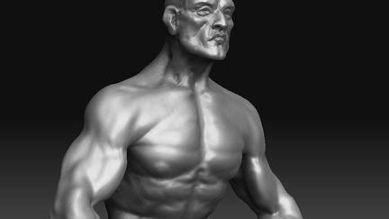 Barbarian - 3D Sketch