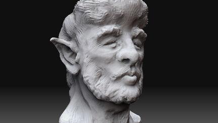 Faun - 3D Sketch