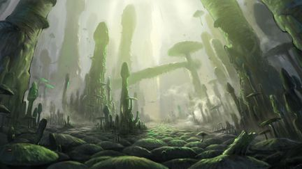 Thru The Moebius Strip -Raphicca woods