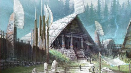 bless online_bran forest  town