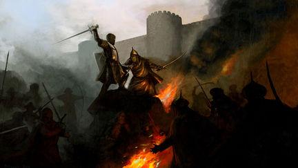 Crusader Kings 2 Loading screen