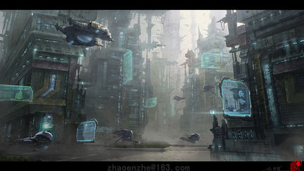 Industrial Planet - city