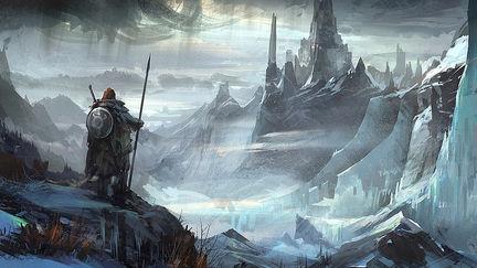 冰峰城 Frozen City