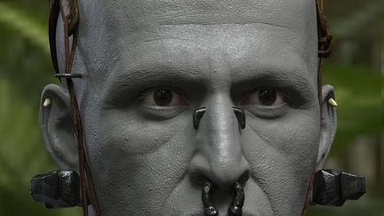 Middle Eye: Apocalypto: Head Study, clay render