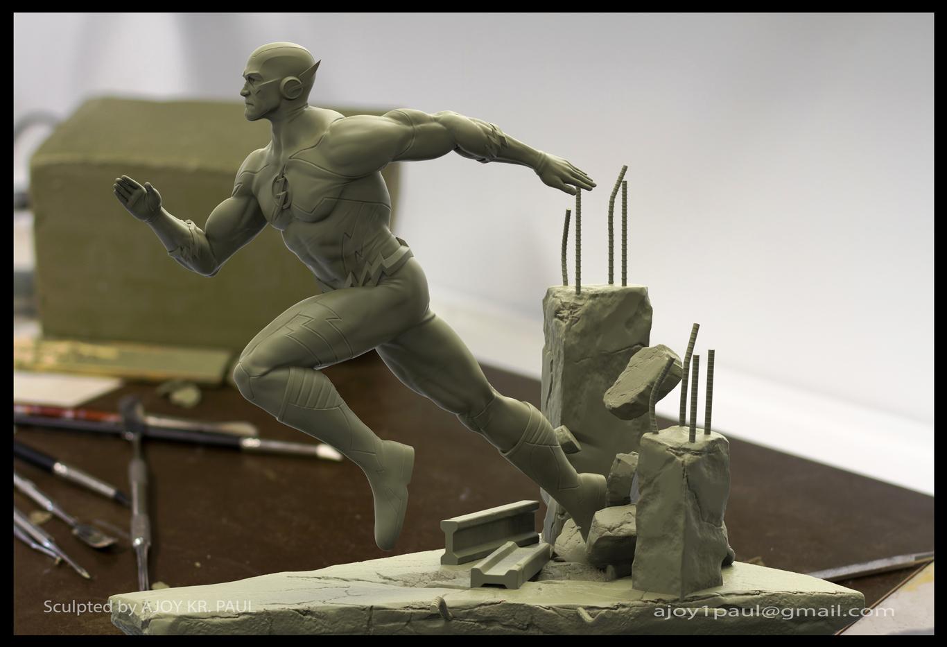 Ajoykrpaul flash statue sculpt 1 935e9028 1wv1