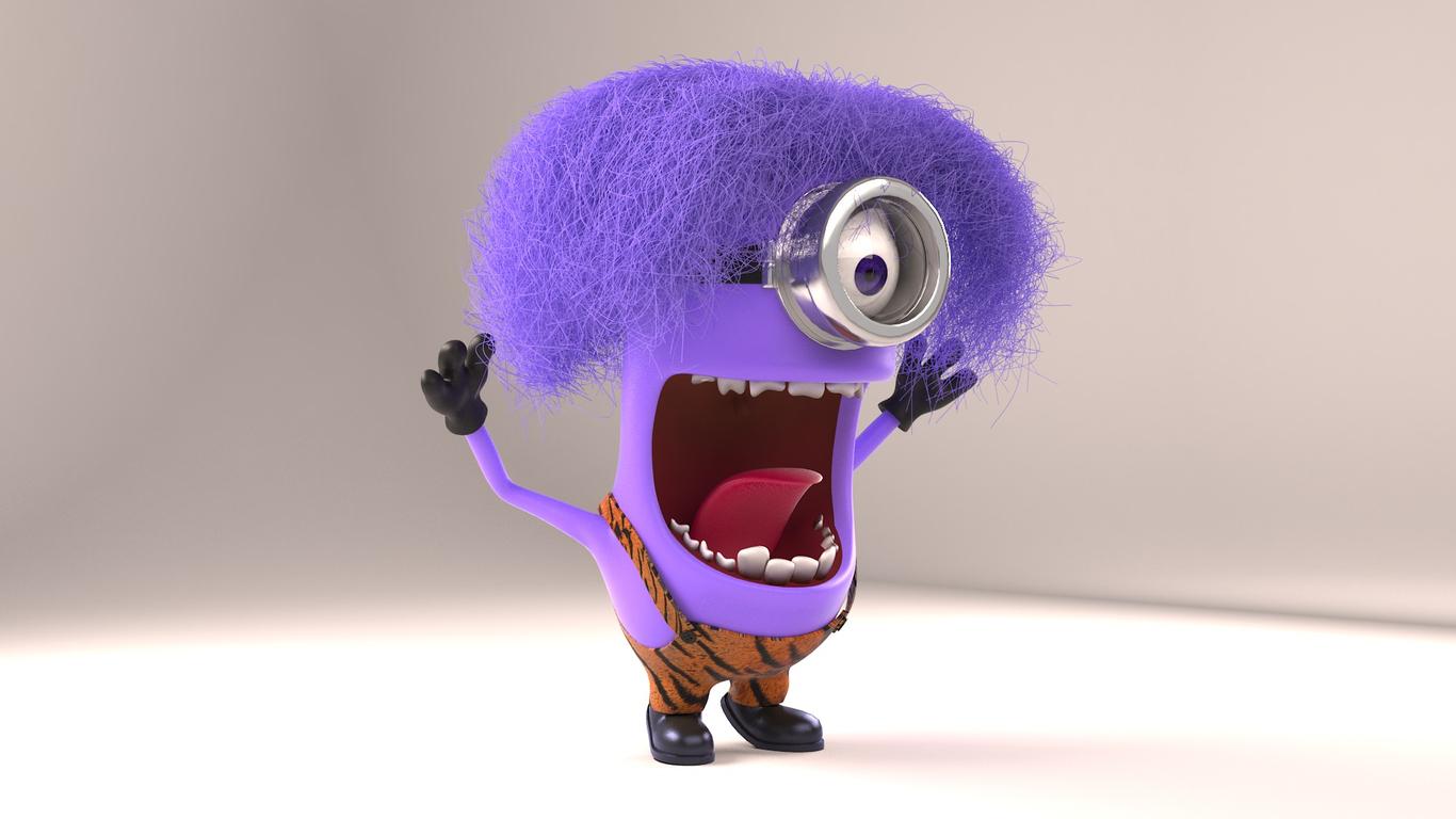 гармони злой фиолетовый миньон картинка росс первый мужчина-модель