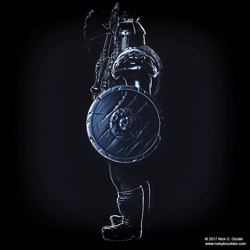 Aumakua dwarf warrior miniat 1 67594693 ou5i