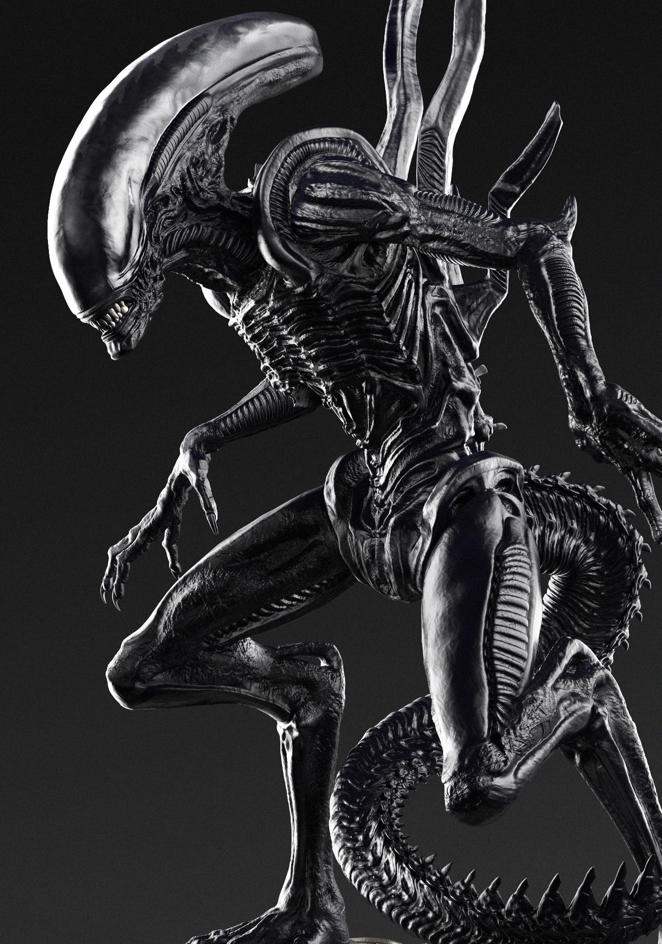 ALIEN ( Xenomorph Runner )- by CalebNefzen   Creatures   3D