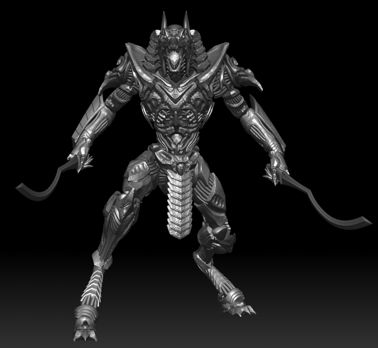Biomechanical Anubis by chanyy | 3D | CGSociety
