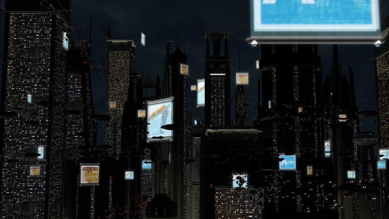 Doncameron spider man 2099 city 1 33abd88d ay74