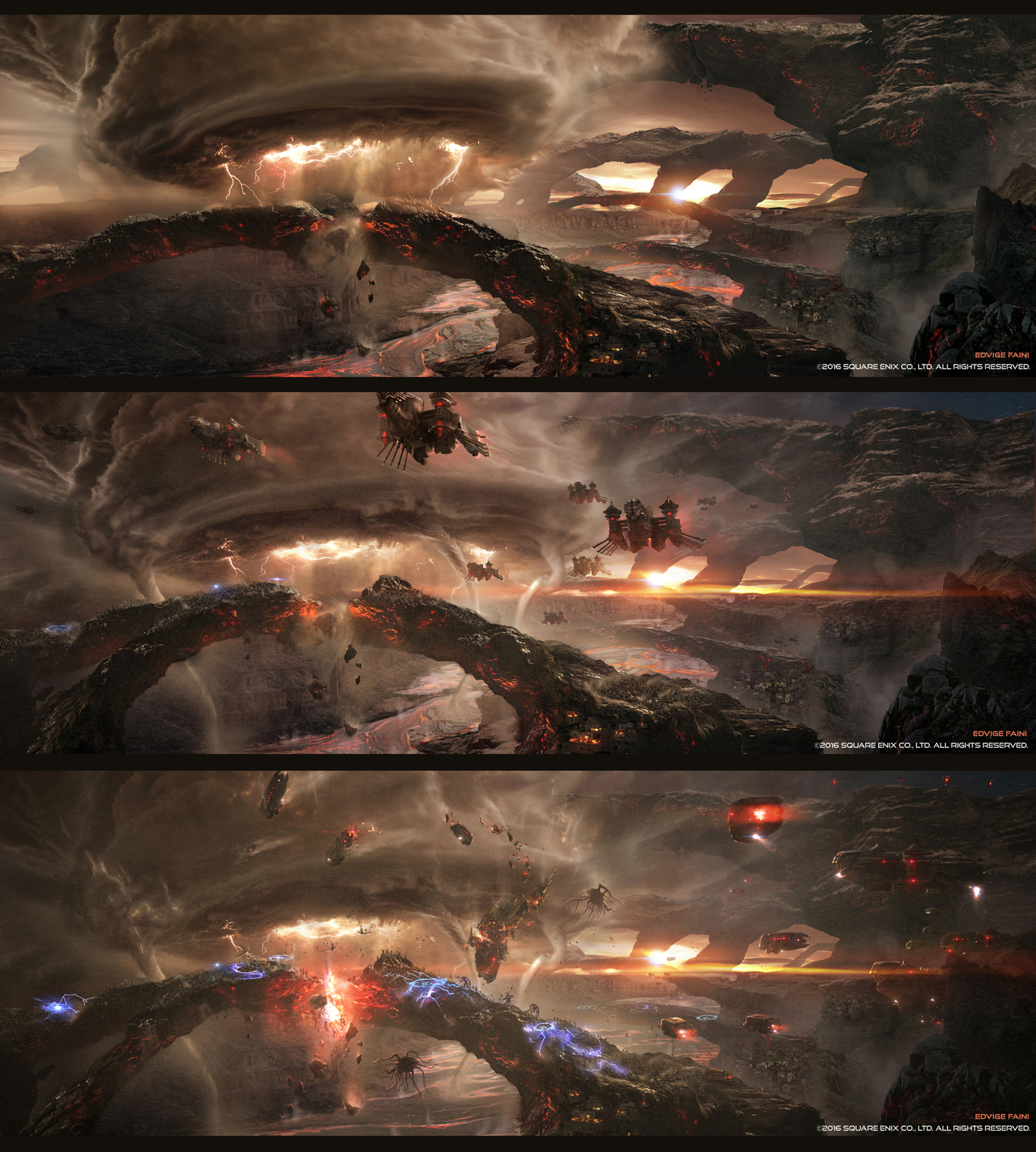 Kingsglaive Final Fantasy Xv Battle Sequence Concept