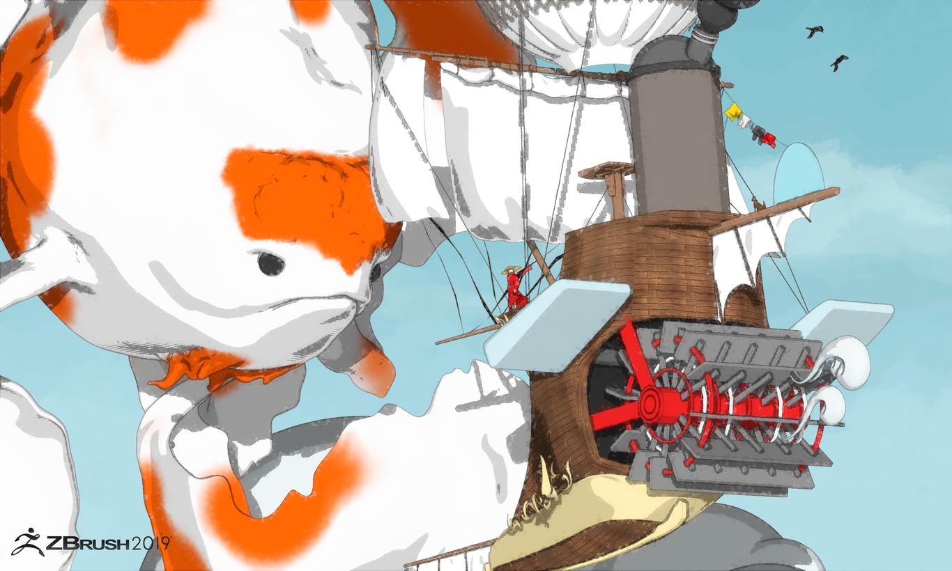 Zbrush 2019 BETA by enishi | Character Art | 3D | CGSociety