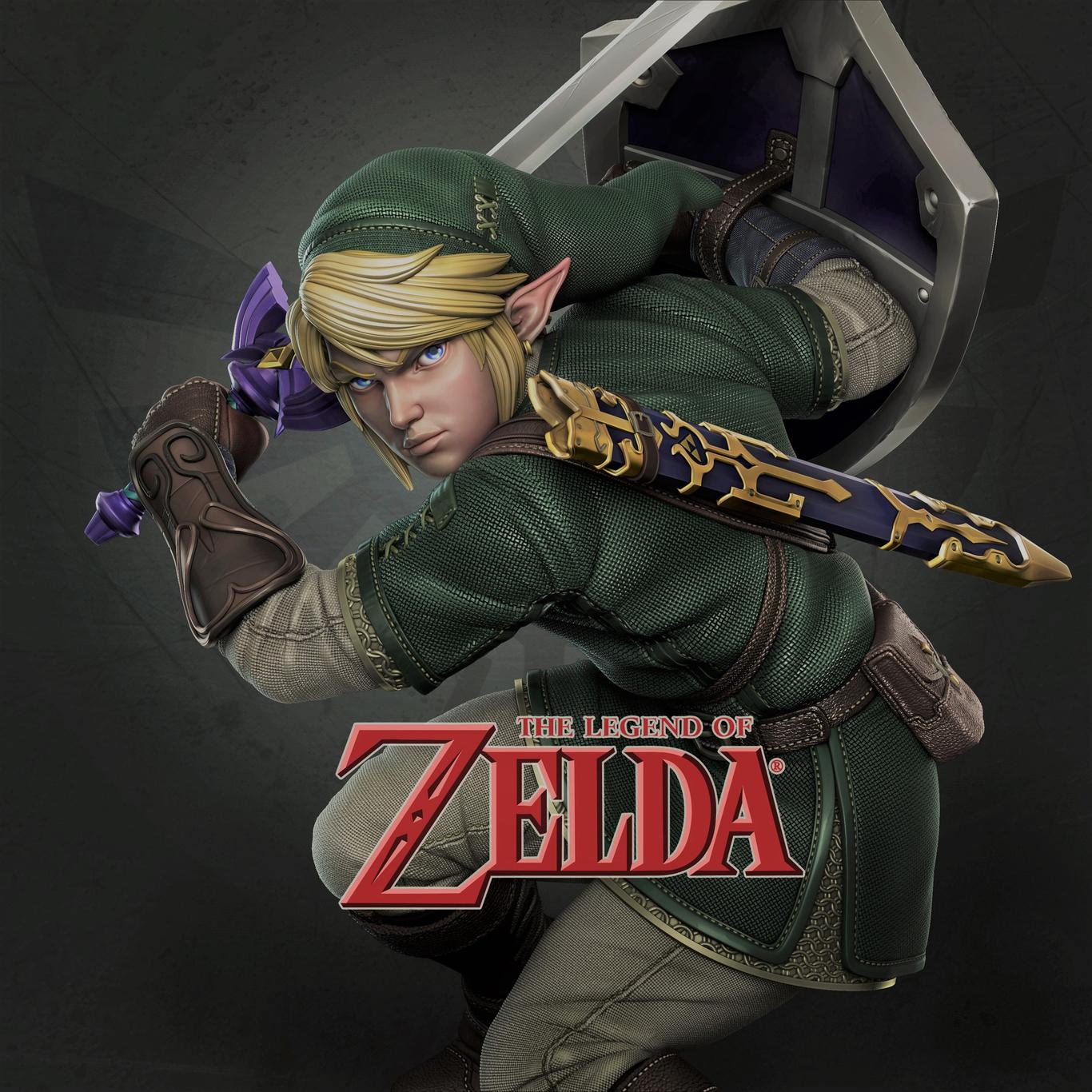 The Legend Of Zelda Link Fanart By Fabriciobatista Anime
