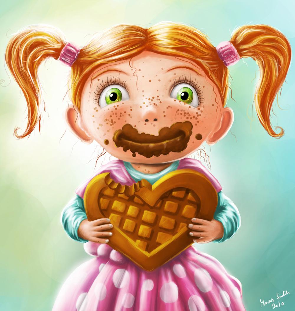 Fredziq girl with chocolate 1 616c90bb 502p
