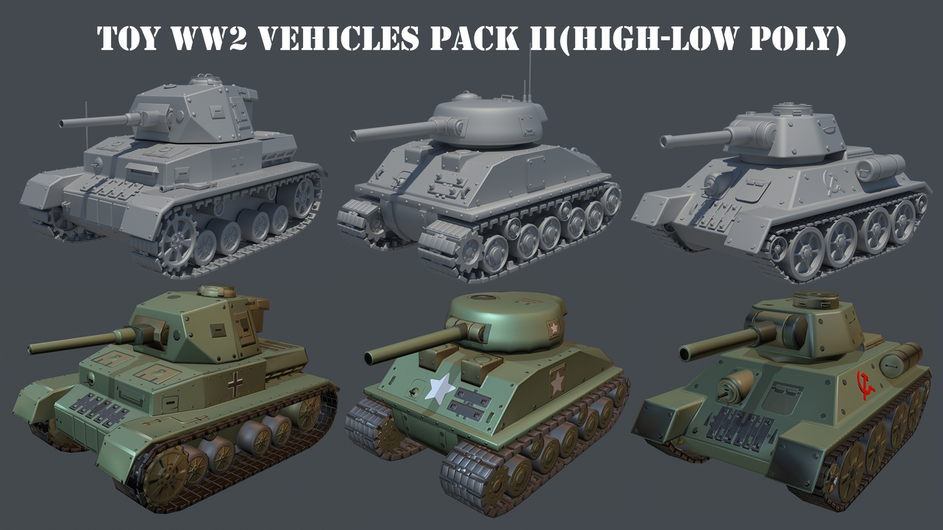 Gabytiro toy ww2 vehicles par 1 54c30c79 ee59